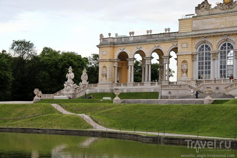 Глориетта и лабиринты Шенбрунна, Вена / Австрия