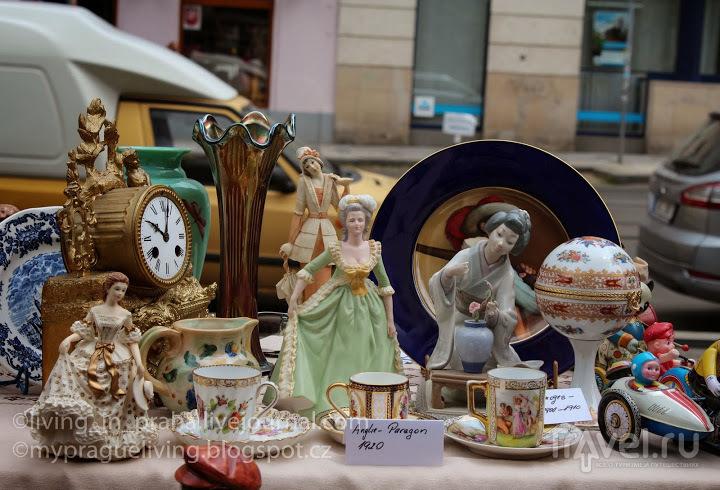 Прага. Блошиный рынок на Тылово Намнести