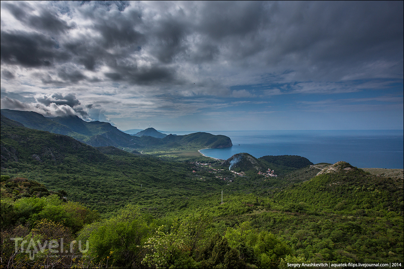 Черногория: Будванская ривьера / Фото из Черногории