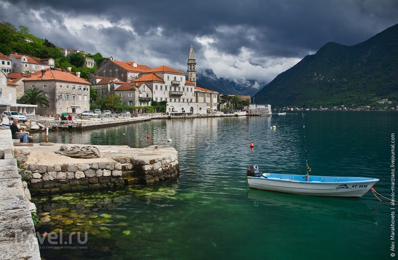 Пераст: райская жизнь рядом с Островом Погибших Кораблей / Фото из Черногории