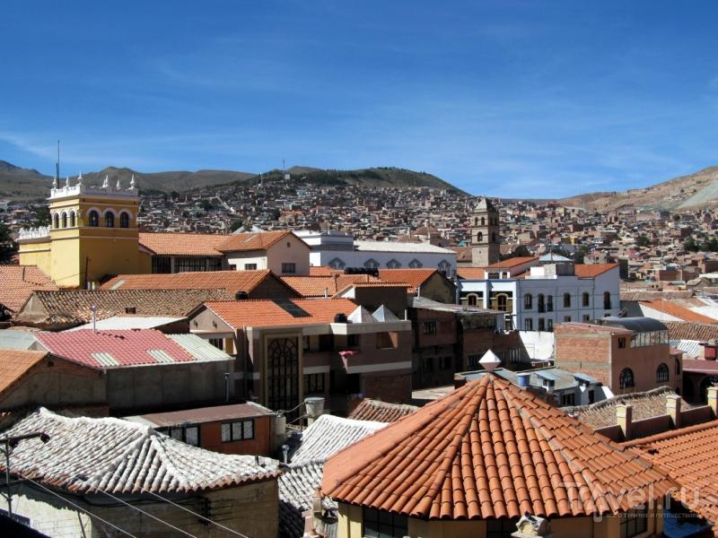Боливийский город Потоси - серебряная столица Южной Америки / Боливия