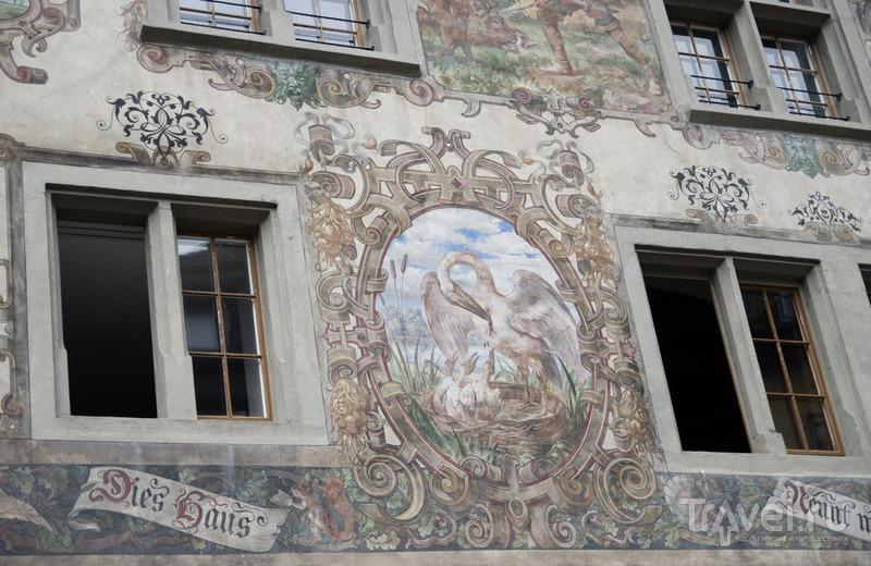 Штайн-ам-Райн - симпатичный городок / Швейцария