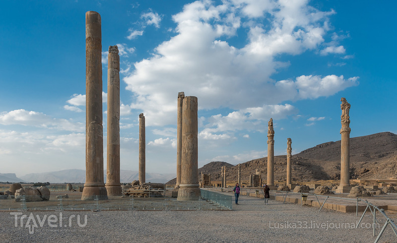 Город-герой Персеполь / Иран