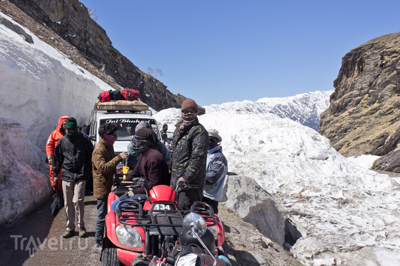 Снег да любовь. Индийский горнолыжный курорт у перевала Ротанг / Индия