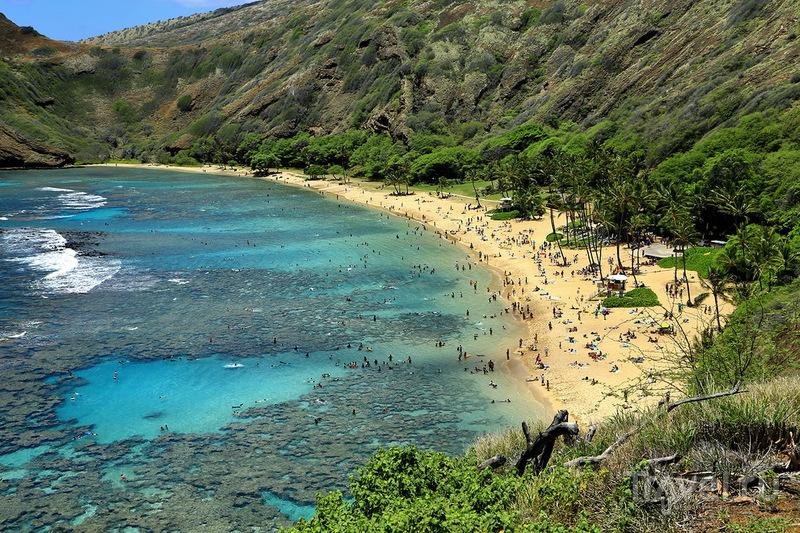 Бухта Ханаума Бей, Гавайи