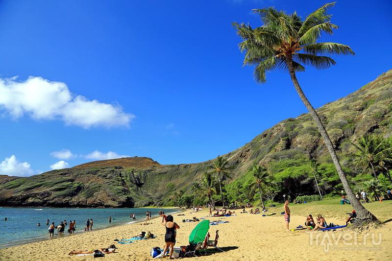 Гавайи. Ханаума Бей