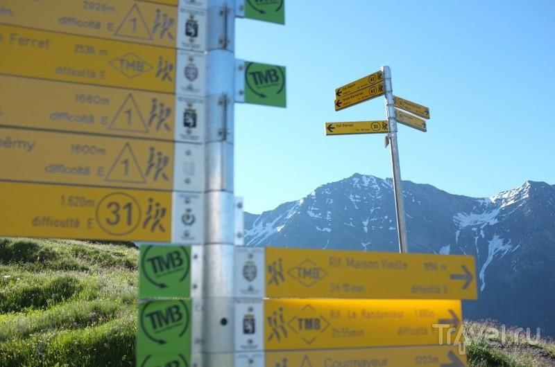 Пешком по Альпам - Tour De Mont Blanc / Италия
