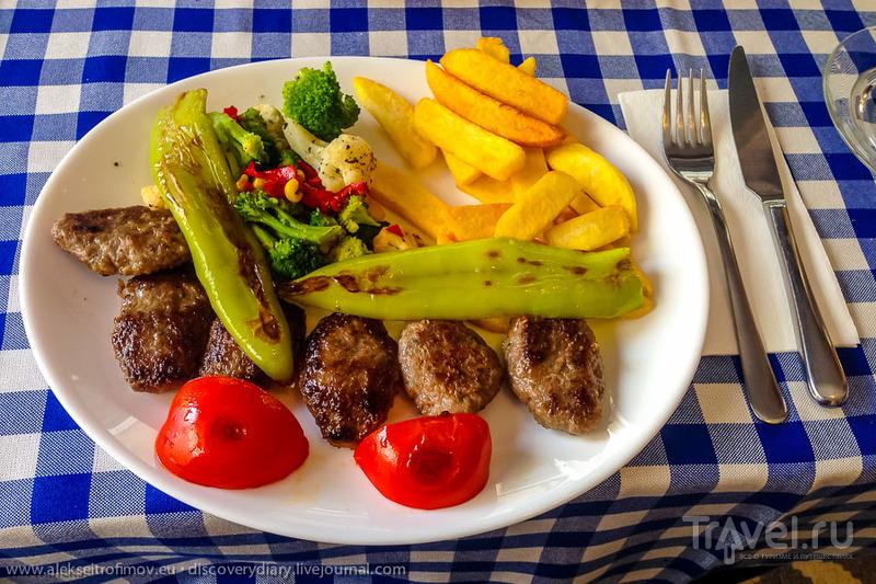 Стамбульские кушанья / Турция