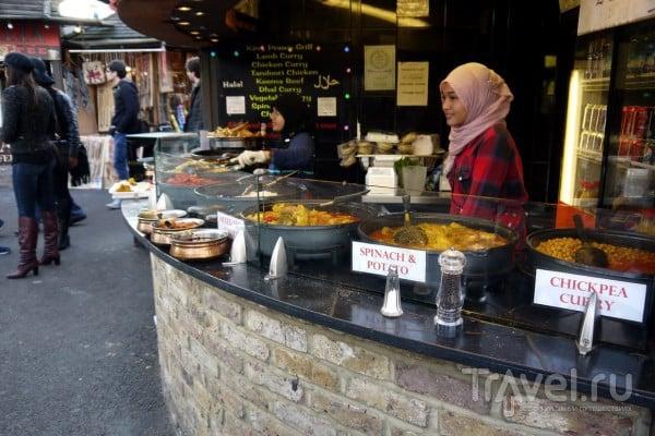 Лондон. Уличные рынки / Великобритания