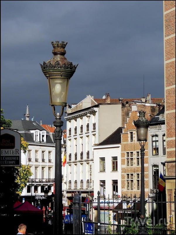 Брюссель. Район Центрального вокзала / Фото из Бельгии