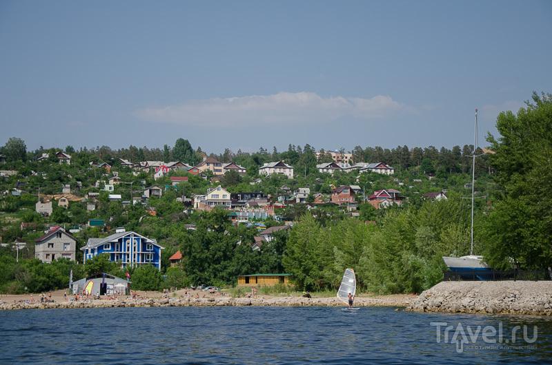 Акватория яхт-клуба в Тольятти / Фото из России