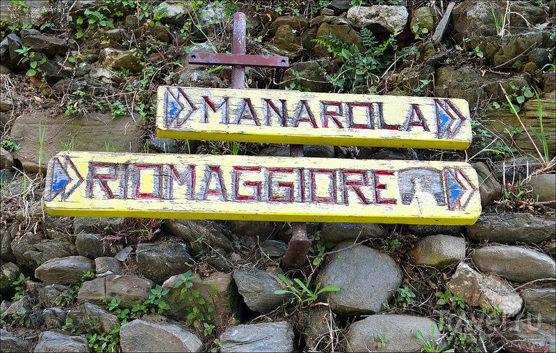 Vernazza и Manarola. Cinque Terre. Лигурия / Фото из Италии