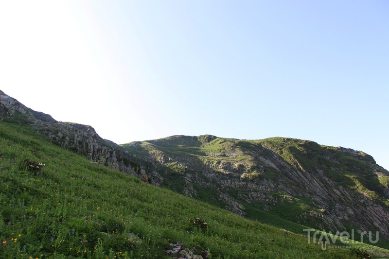 Поход на хребет Ачишхо / Россия