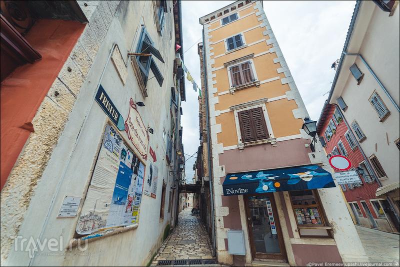 Ровинь. Город, где не знают хорватский и раздают мороженное даром / Хорватия