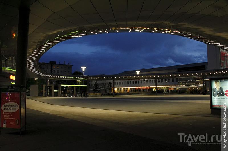 Один вечер на вокзале в Граце / Австрия