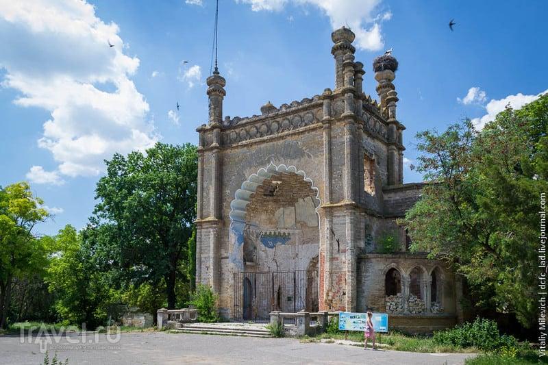 Мавританский дворец под Одессой / Украина