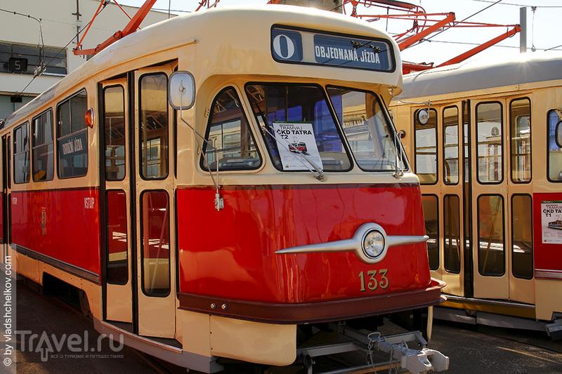 Пльзень. Исторические трамваи / Чехия