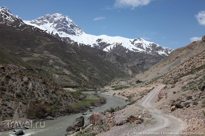 Таджикистан. Худжанд - Фанские горы / Таджикистан