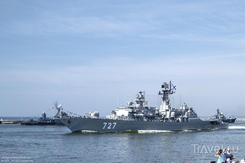 Парад в честь Дня ВМФ в Балтийске / Россия