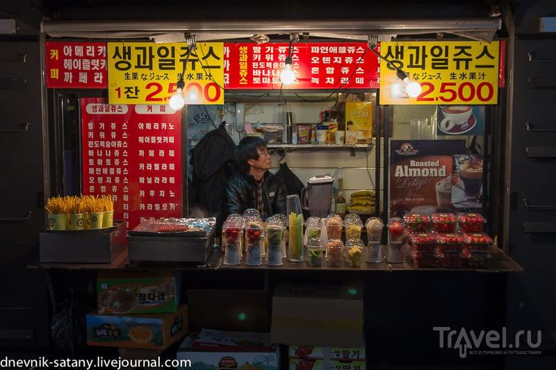 Сеул, Южная Корея: прогулки по вечерним улицам / Фото из Южной Кореи