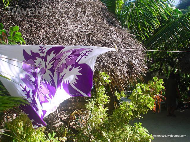 На велосипеде вокруг Бора-Бора / Французская Полинезия