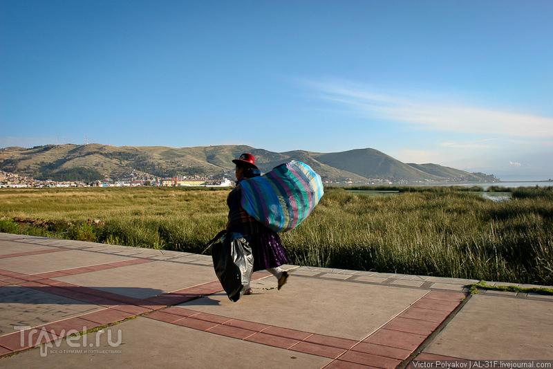 Озеро Титикака и остров Солнца / Фото из Боливии