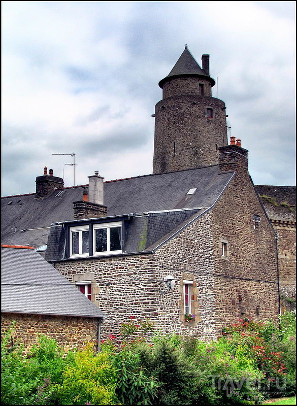 Заглянуть в Фужер (Fougères). Бретань. Франция / Франция