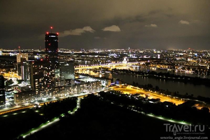 Самый крутой вид на Вену с Дунайской башни! / Австрия