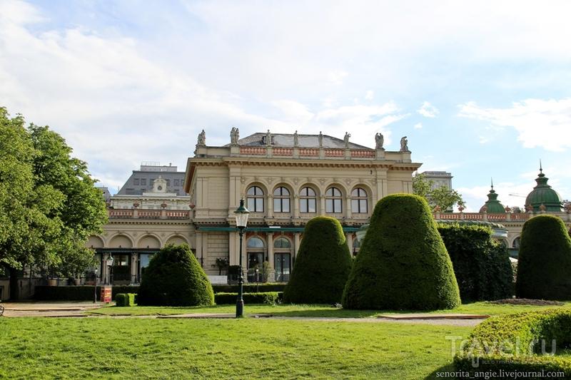 Прогулка по  Городскому парку Вены / Австрия