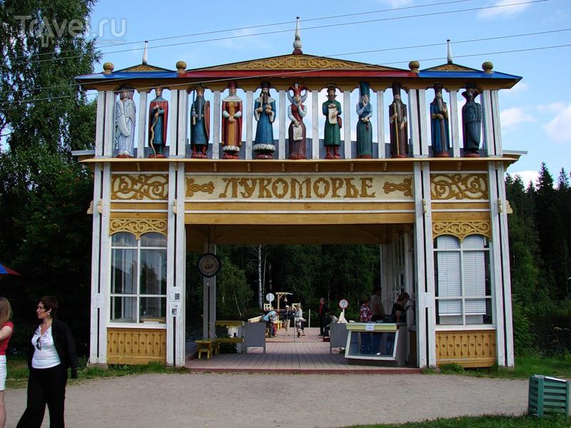 Деревня Верхние Мандроги / Россия