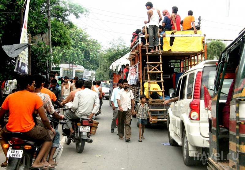 Дорогами Индии. Из Харидвара в Дели / Индия