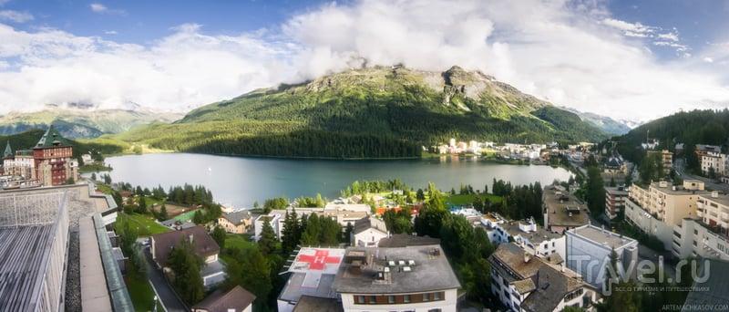Санкт-Мориц - столица Альп / Фото из Швейцарии