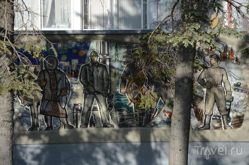 Мозаика в Южно-Сахалинске / Фото из России