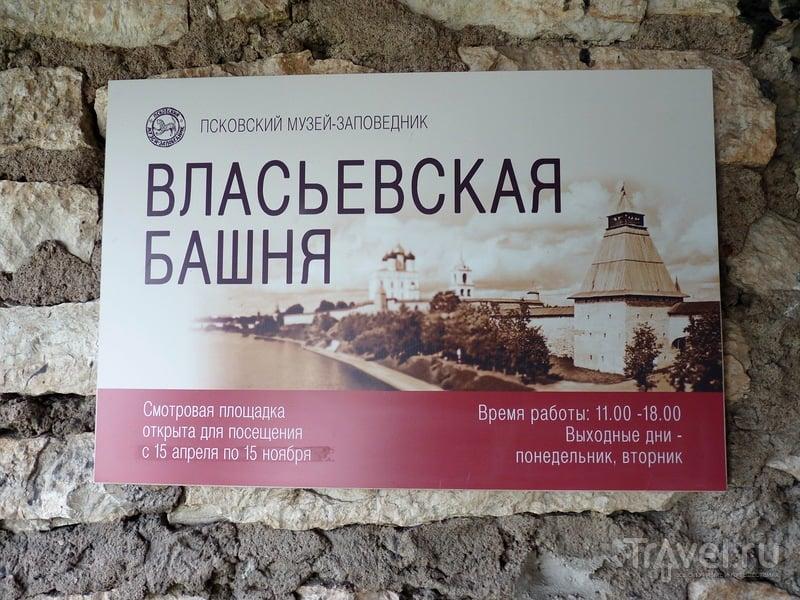 Псков. Виды со смотровой площадки Власьевской башни / Россия