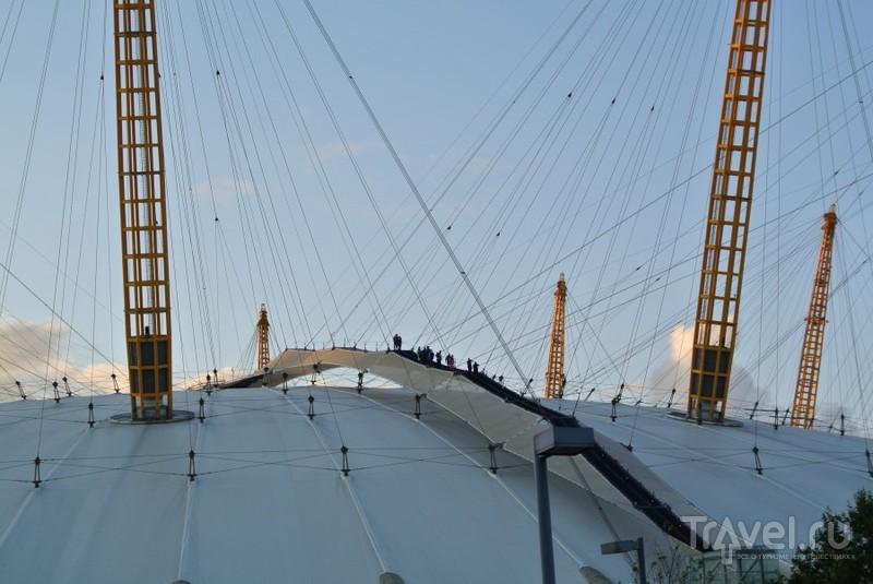 Канатная дорога Emirates Air Line в Лондоне / Великобритания