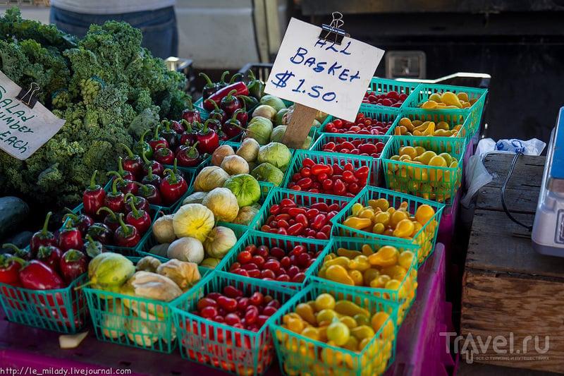Американский овощной базар / США