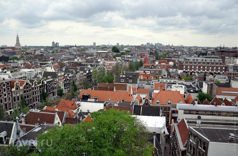 Как выглядит Амстердам сверху? / Нидерланды