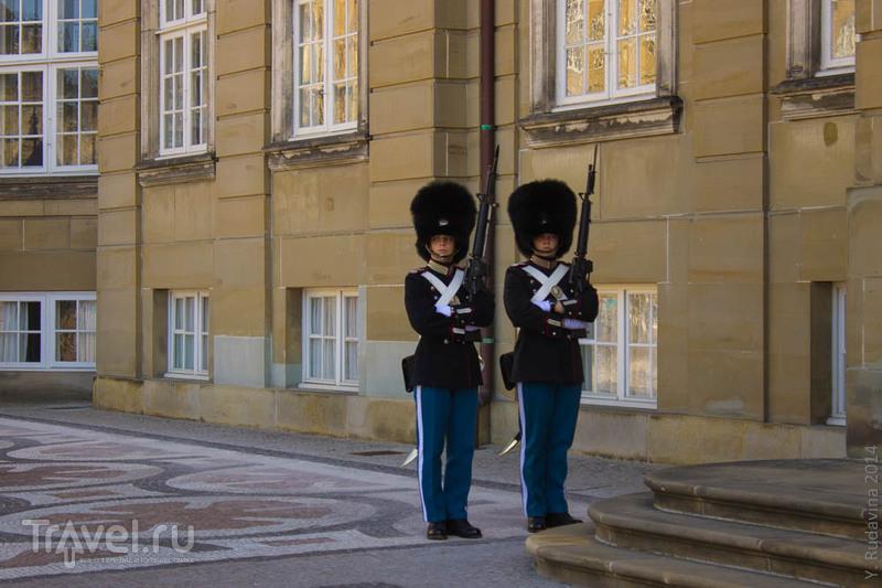 Смена караула в Копенгагене / Дания