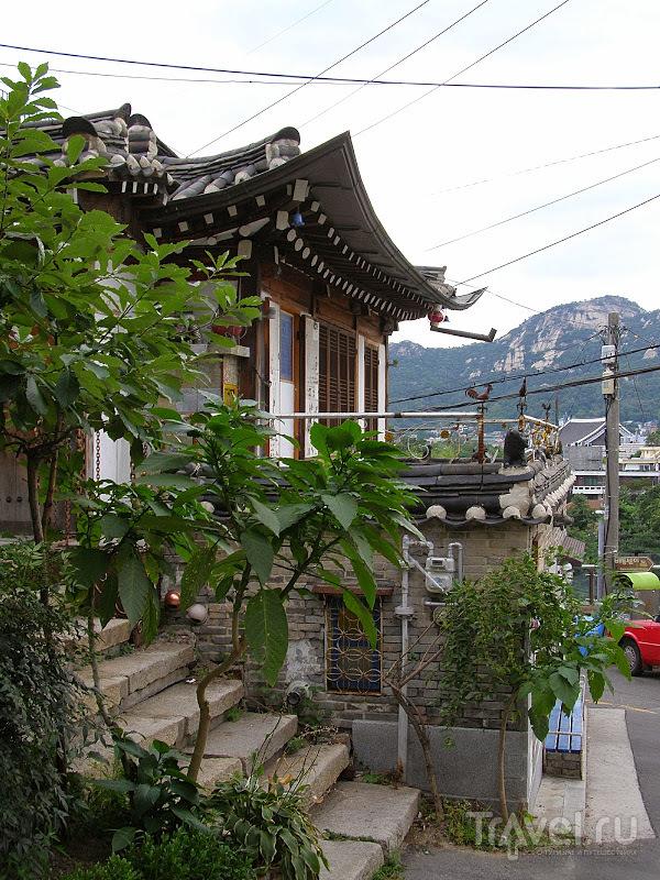 Южная Корея. Сеул. Деревня Букчон / Южная Корея
