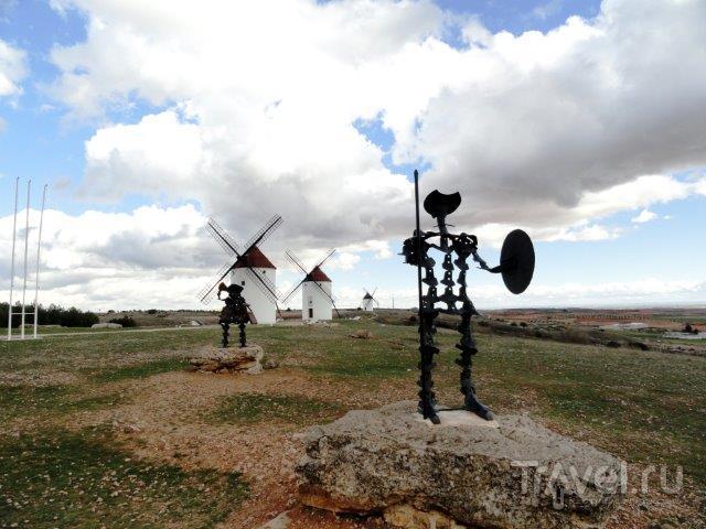 Мельницы Консуэгра и Замок Бельмонте / Испания