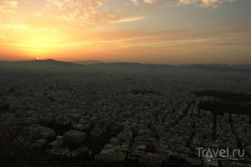 Гора Ликабет или Ликавиттос / Греция