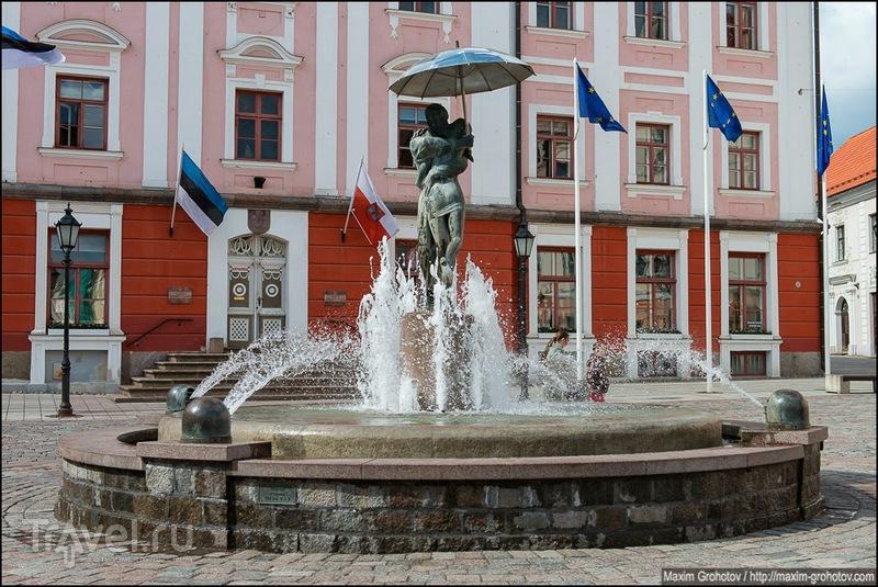 Тарту - город целующихся студентов / Эстония