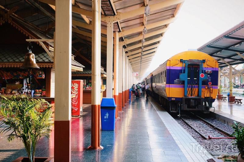 Из Чианг Мая в Аюттаю по железке / Таиланд