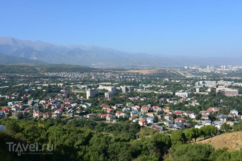 Как выглядит Алма-Ата сверху? / Казахстан