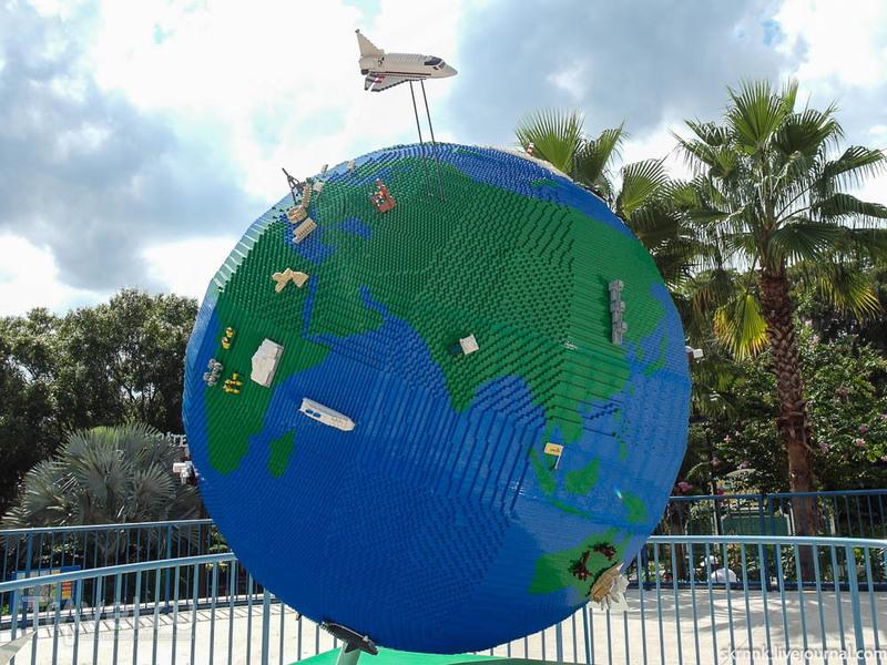 Тематический парк Леголенд Флорида / США