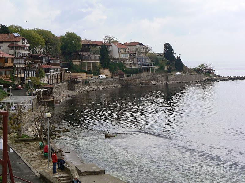 Болгария. Море и порт Несебра / Болгария
