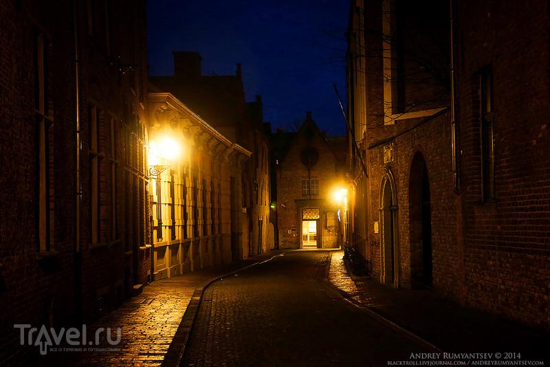 Магия вечернего Брюгге / Фото из Бельгии