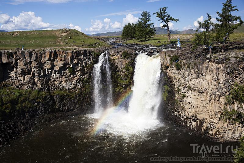 Водопад Орхон / Монголия