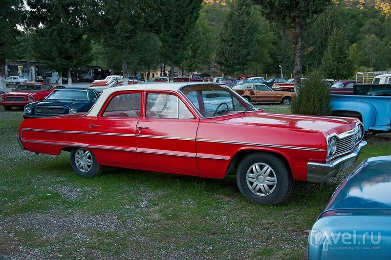 Салон-музей старинных авто в турецкой глубинке / Фото из Турции