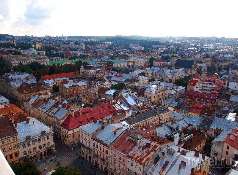 Виды со львовской ратуши / Фото с Украины